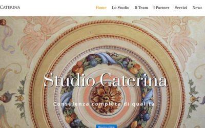 Lo Studio Caterina va online